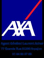 Logo écriture bleu